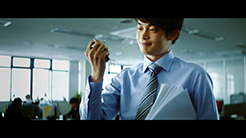 日本製鉄 企業 磁石人間篇
