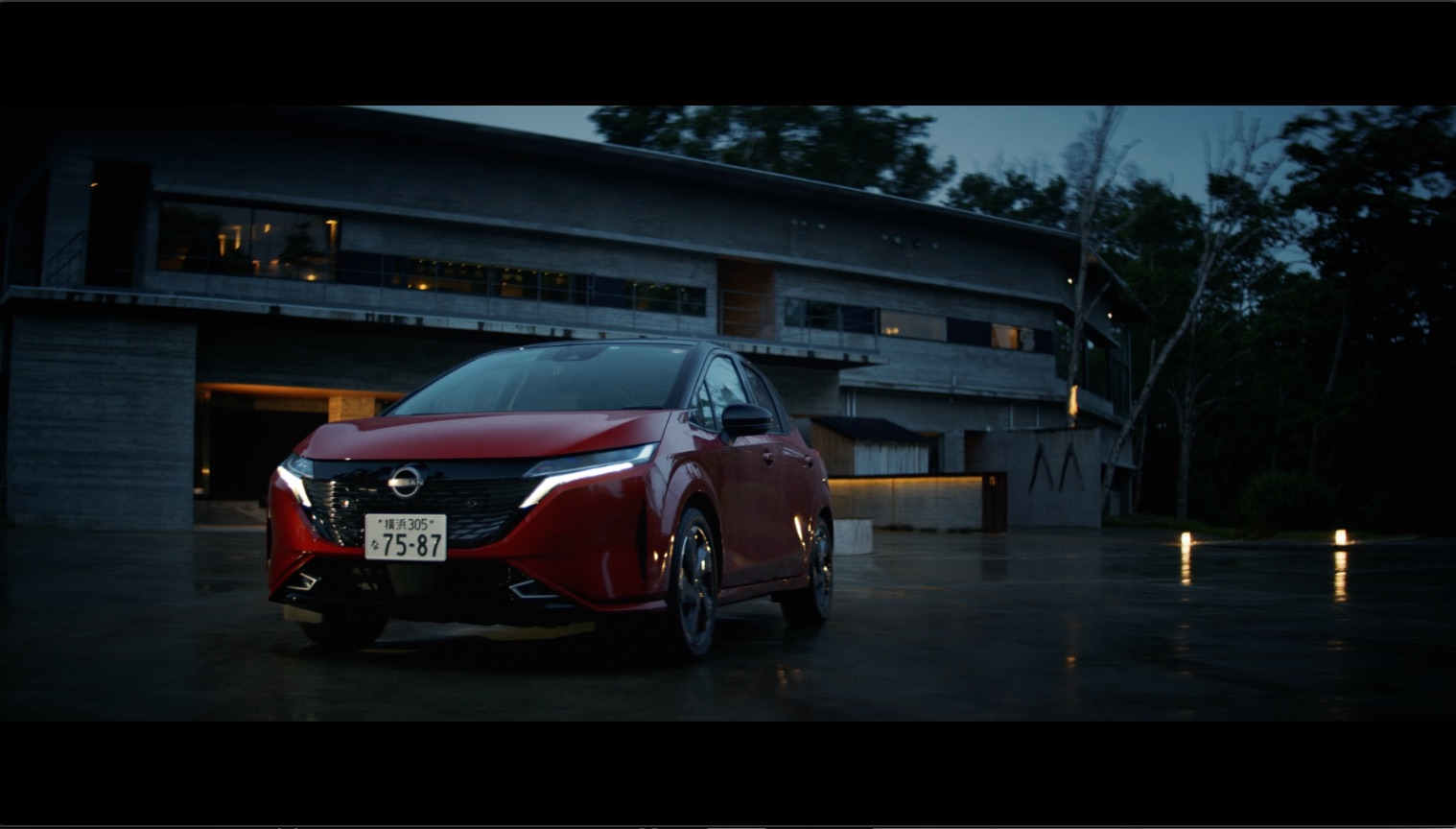 日産自動車 AURA WEBMOVIE「THE PREMIUM TRIP」